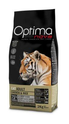 Obrázek OPTIMAnova Cat Adult Chicken & Rice 2 kg