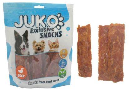 Obrázek JUKO SNACKS Duck soft jerky 250 g