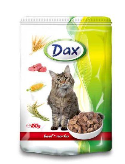 Obrázek z Dax Cat kapsička hovězí 100 g