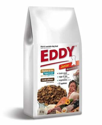 Obrázek EDDY Junior Medium breed-dog  8kg-13052