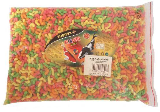 Obrázek z KOI MIX sticks plovoucí, sáček 5 l