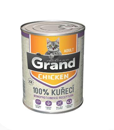 Obrázek Grand deluxe 100% KUŘECÍ pro kočku 400g-15478