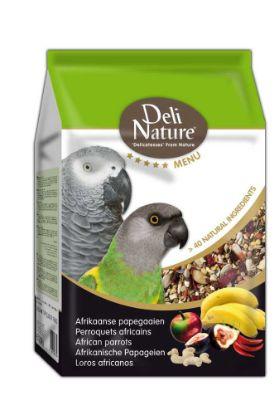 Obrázek Deli Nature 5 Menu africký papoušek 2,5 kg