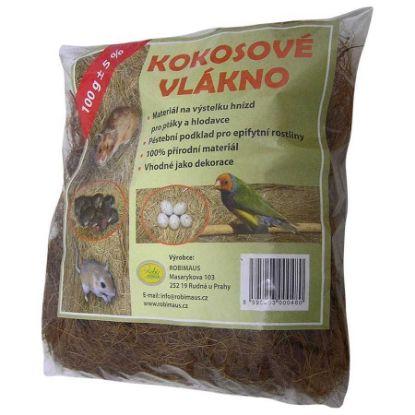 Obrázek Kokosové vlákno 100g-Robimaus-12367