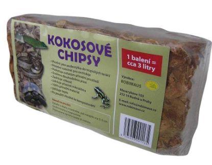 Obrázek Kokosové chipsy briketa 20x10x6-Robimaus-12368