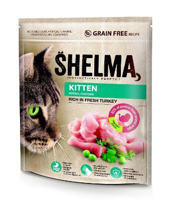 Obrázek Shelma cat Freshmeat kitten turkey grain free 750g-15555