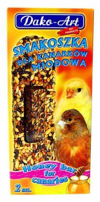 Obrázek Dako Tyčinka kanár medová 2ks-10278