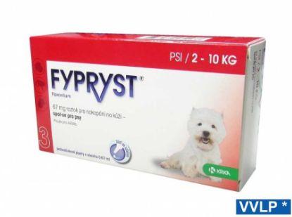 Obrázek Fypryst spot-on pes S 2-10 kg