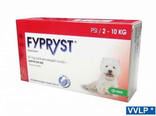 Obrázek z Fypryst spot-on pes S 2-10 kg