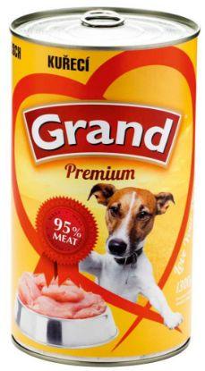 Obrázek Grand Premium Dog kuřecí 1300 g