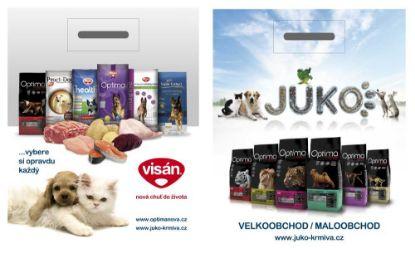 Obrázek Igelitová taška-50mkm-VISAN kočka+pes-9197