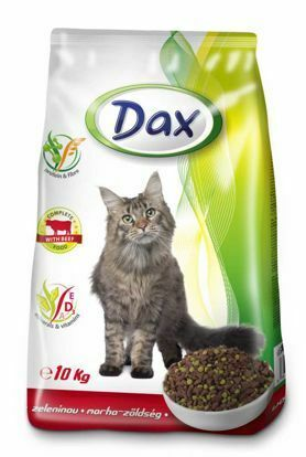 Obrázek Dax Cat granule hovězí se zeleninou 10 kg