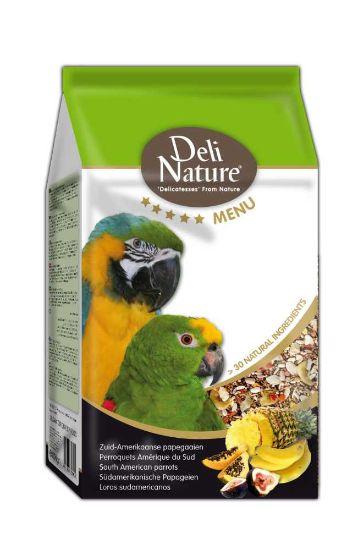 Obrázek z Deli Nature 5 Menu jihoamerický papoušek 800 g