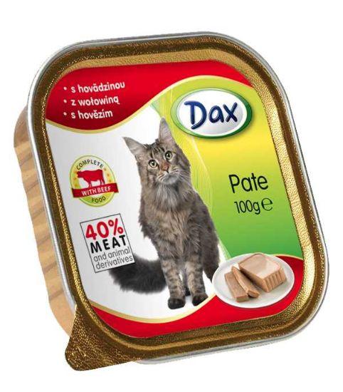 Obrázek z Dax Cat vanička hovězí 100 g