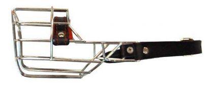 Obrázek Náhubek zinek/kov špic, pinč, fena