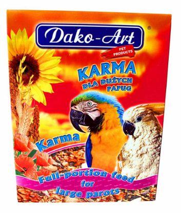 Obrázek Krmivo velký papoušek Dako 800 g