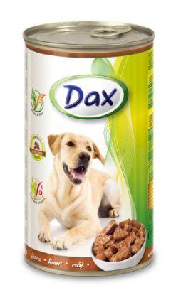 Obrázek Dax Dog kousky játrová 1240 g
