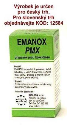 Obrázek EMANOX PMX proti kokcidióze 50 ml !CZ!