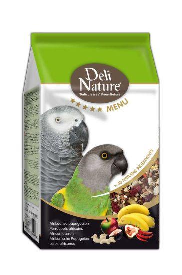 Obrázek z Deli Nature 5 Menu africký papoušek 800 g