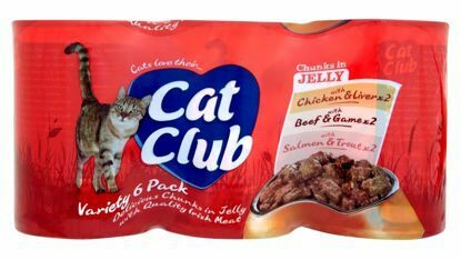 Obrázek Cat Club Mix Chunks in Jelly 400g (6pack ) v ŽELÉ-12907