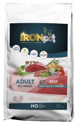 Obrázek IRONpet Dog Adult All Breed Beef (Hovězí) 12 kg