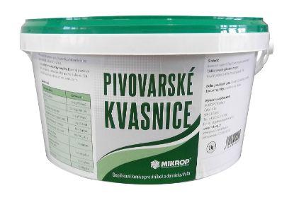 Obrázek Pivovarské kvasnice Mikrop 2 kg