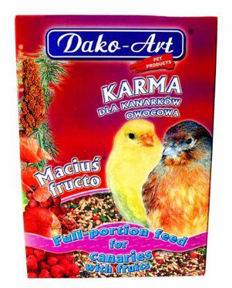 Obrázek Dako Krmivo kanár ovoce 500g-10282