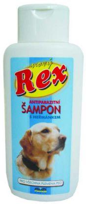 Obrázek REX šampon antiparazitní 250ml-MODRÝ -1646