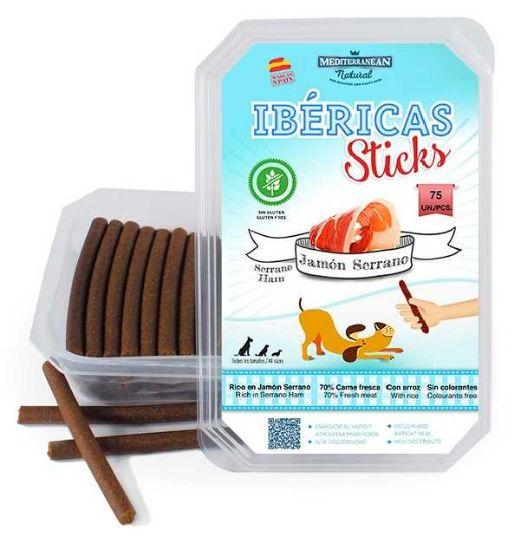 Ibéricas Sticks Serrano Ham 900g 75ks snack for dog-14820