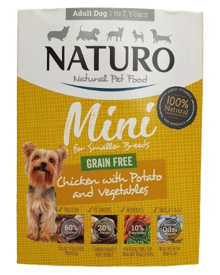Obrázek z Naturo Dog Mini Chicken GF 150 g