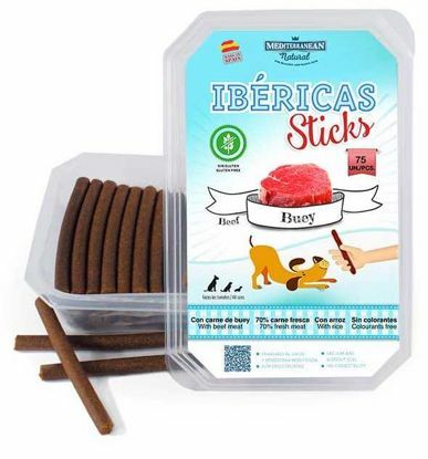 Obrázek Ibéricas Sticks Beef  900g 75ks snack for dog-14822
