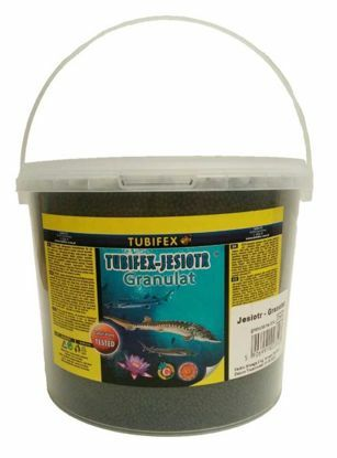 Obrázek Tubifex krmivo pro jesetery 2 mm 2 kg