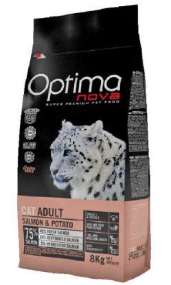 Obrázek OPTIMAnova Cat Salmon & Potato GF 8 kg
