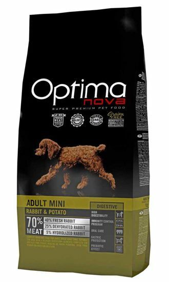 Obrázek z OPTIMAnova Dog Adult Mini Digestive Rabbit & Potato GF 8 kg