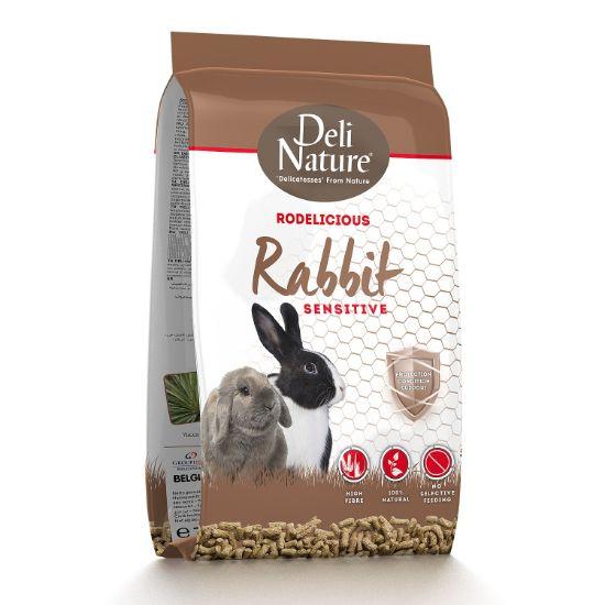 Obrázek z Deli Nature Rodelicious Sensitive králík 750 g
