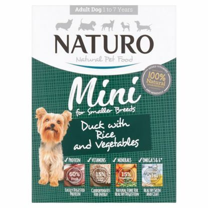 Obrázek Naturo Dog Adult Duck & Rice with Vegetables 150 g