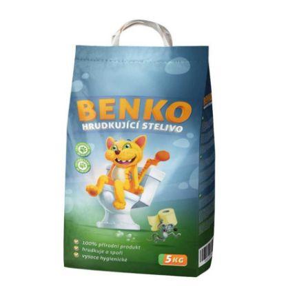 Obrázek Benko hrudkující stelivo 5 kg