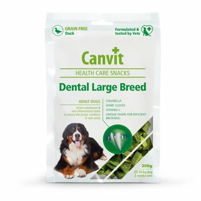Obrázek Canvit Snacks Dental Large Breed-Duck 250g