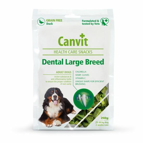 Obrázek z Canvit Snacks Dental Large Breed-Duck 250g