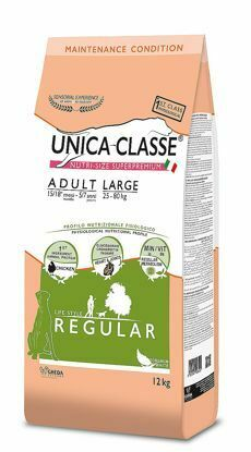Obrázek UNICA CLASSE Regular Adult Large Chicken 12 kg