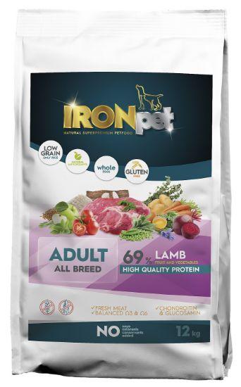 Obrázek z IRONpet LAMB Adult All Breed 12kg