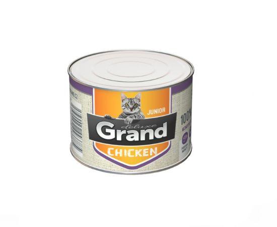 Obrázek z Grand deluxe Cat Junior 100% kuřecí 180 g