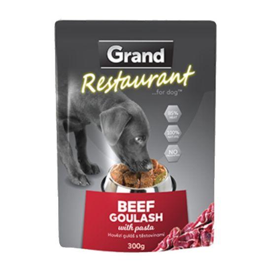 Obrázek z Grand Deluxe Resturant hovězí guláš, kapsa 300 g