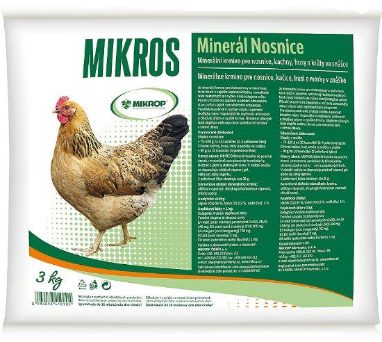 Obrázek z MIKROS minerál nosnice 3 kg