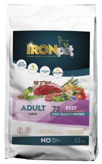 Obrázek z IRONpet Dog Mini Adult Beef (Hovězí) 12 kg
