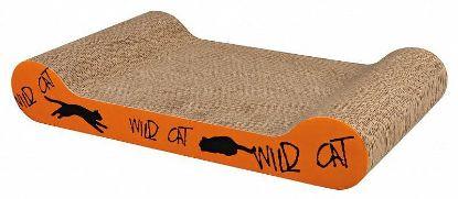 Obrázek Škrábací karton Wild Cat oranžový