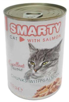 Obrázek SMARTY chunks Cat Losos 410 g