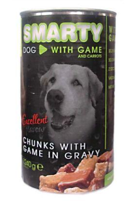 Obrázek SMARTY chunks Dog Zvěřina 1240 g