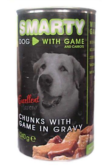 Obrázek z SMARTY chunks Dog Zvěřina 1240 g