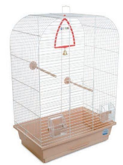 Obrázek z Klec pro ptáky Aurika s výbavou 44 x 27 x 64 cm